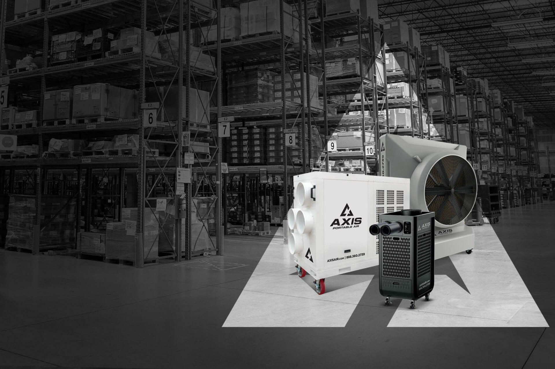 Axis Portable Air Warehouses