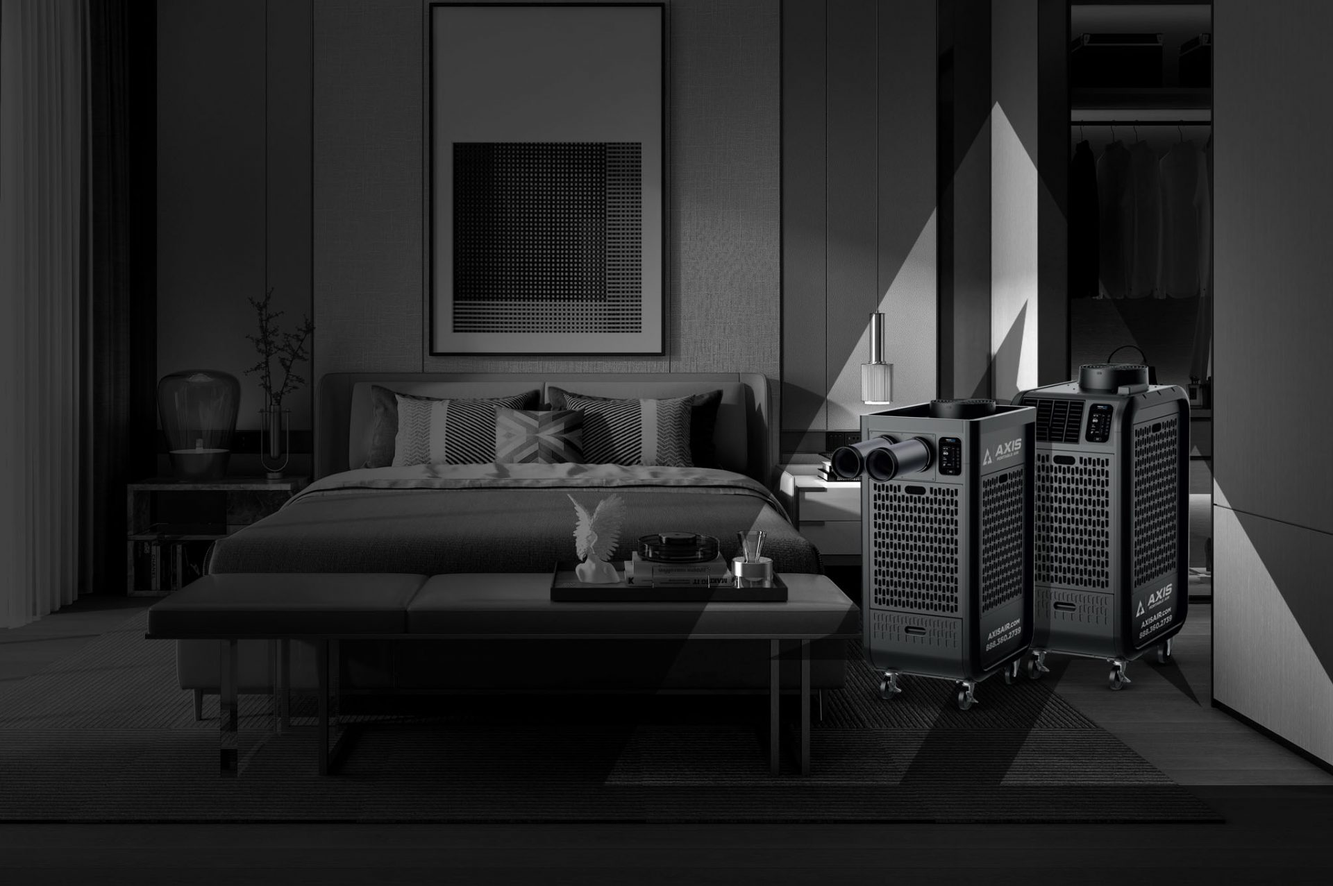 Axis Portable Air rentals